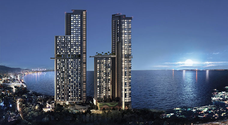 New Development in Wongamat, Town and Country Property Pattaya