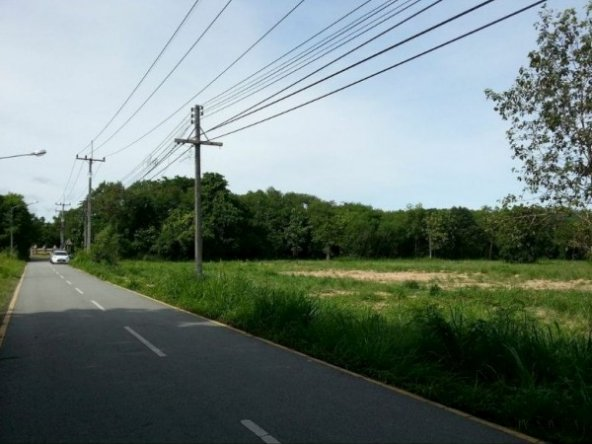 Land 400 Meters Of Na-Jomtien Beach, Town and Country Property Pattaya