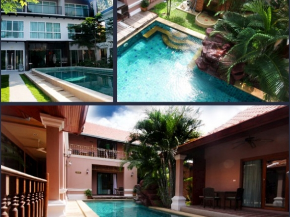 Very Central Home, Town Country Property Pattaya