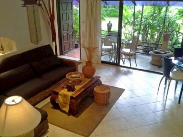อพาร์ทเมนท์ 1 ห้องนอนให้เช่าที่ Chateaudale Thai Bali Condo