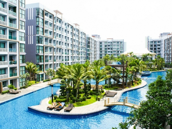 Pool View Condo For Sale At Dusit Grand Park , Jomtien