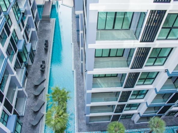 Sea View Condo For Sale at Siam Oriental Tropical Garden, Town Country Property Pattaya