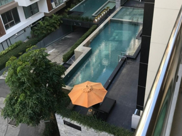 Pool View Condo For Rent At The Urban, Town and Country Property Pattaya