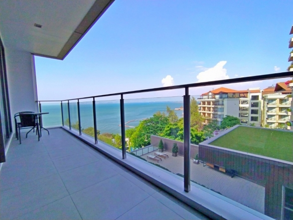 1 Bedroom Sea View Condo For Rent at Baan Plai Haad, Town and Country Property Pattaya